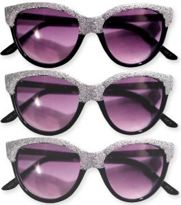 DIY Glitter Sunglasses by What I Wore