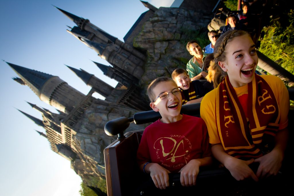 Flight of the Hippogriff © 2015 Universal Orlando Resort. All rights reserved.