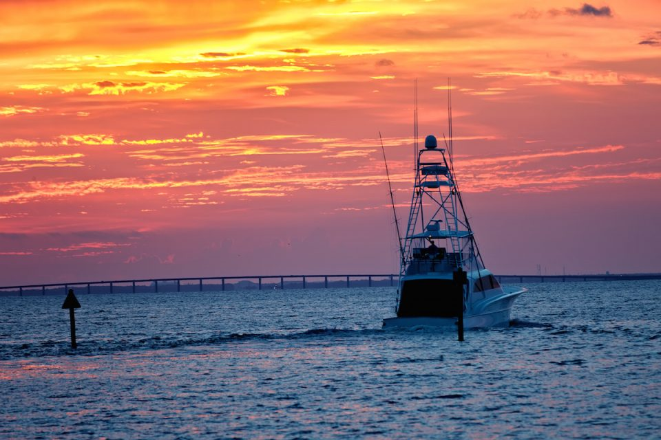 Destin Florida Fishing Boat