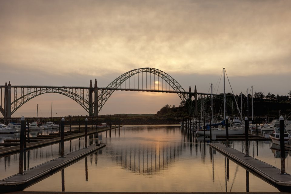Yaquina bay bridge Newport, Oregon