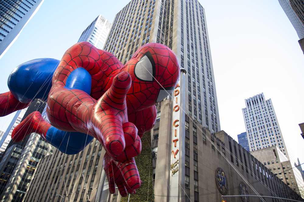 Spiderman Float at Macy's Thanksgiving Day Parade