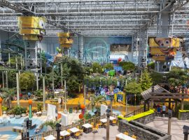 The Amusement Park At Mall Of America In Bloomington, Mn