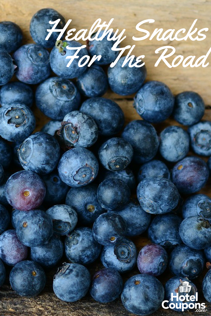 Healthy snacks to pack on the road