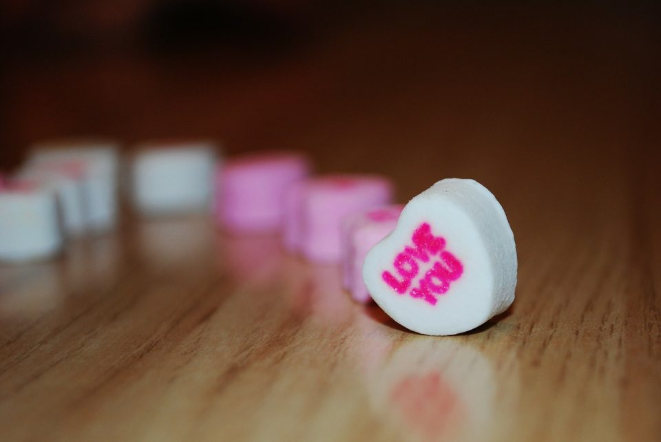 candy hearts crafts