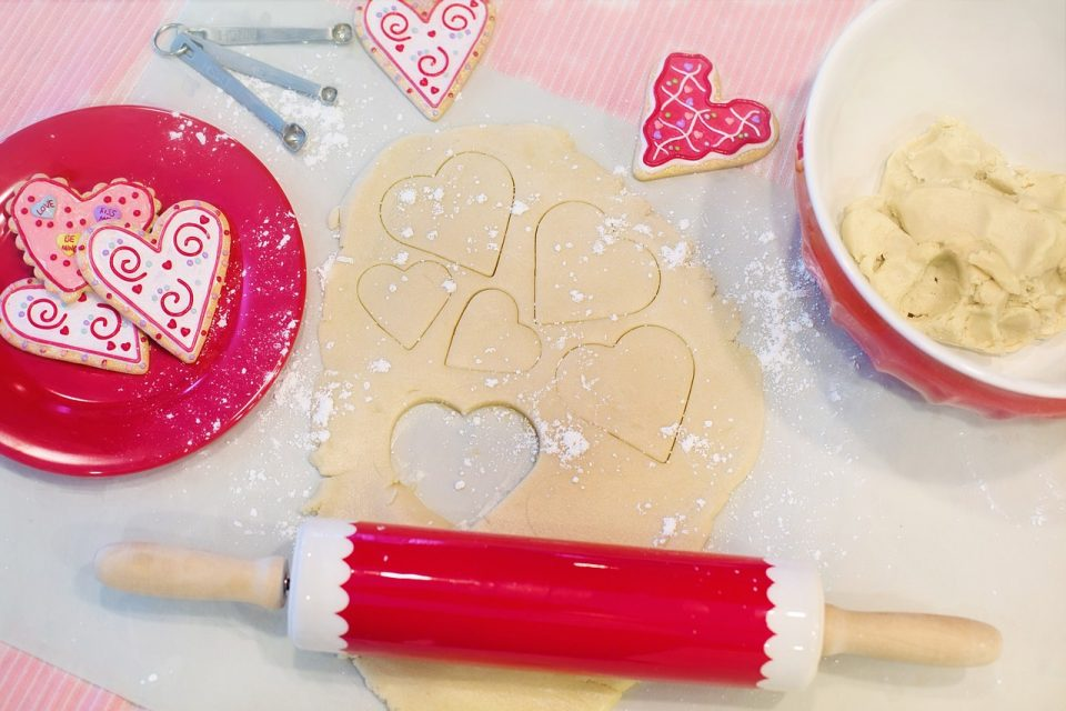 valentines-day-crafts cookies