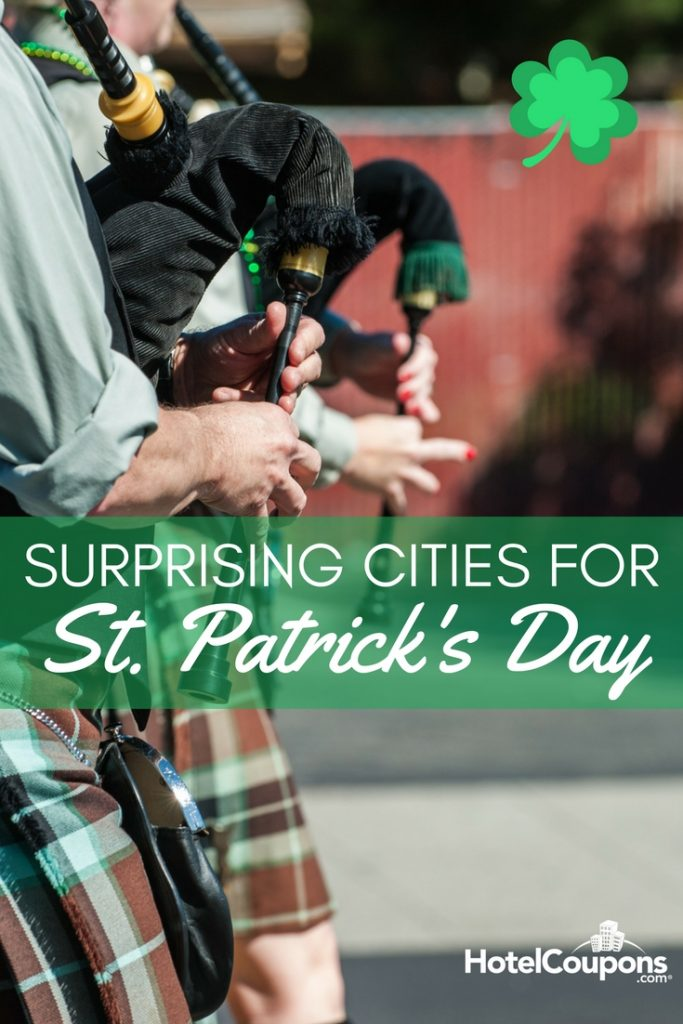 You already know about St. Paddy's parades in New York and Boston. Here are some great cities you may not have known host their own celebrations. Add these to your to-visit list!