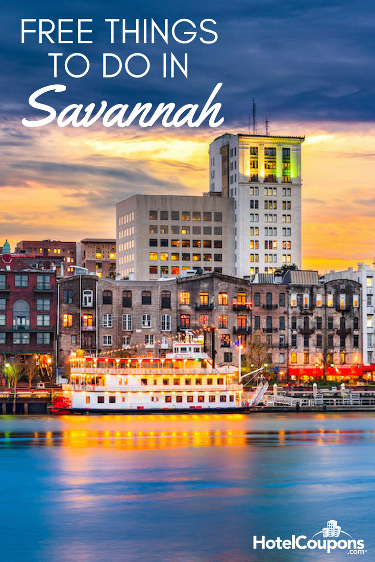 Free things to do in Savannah
