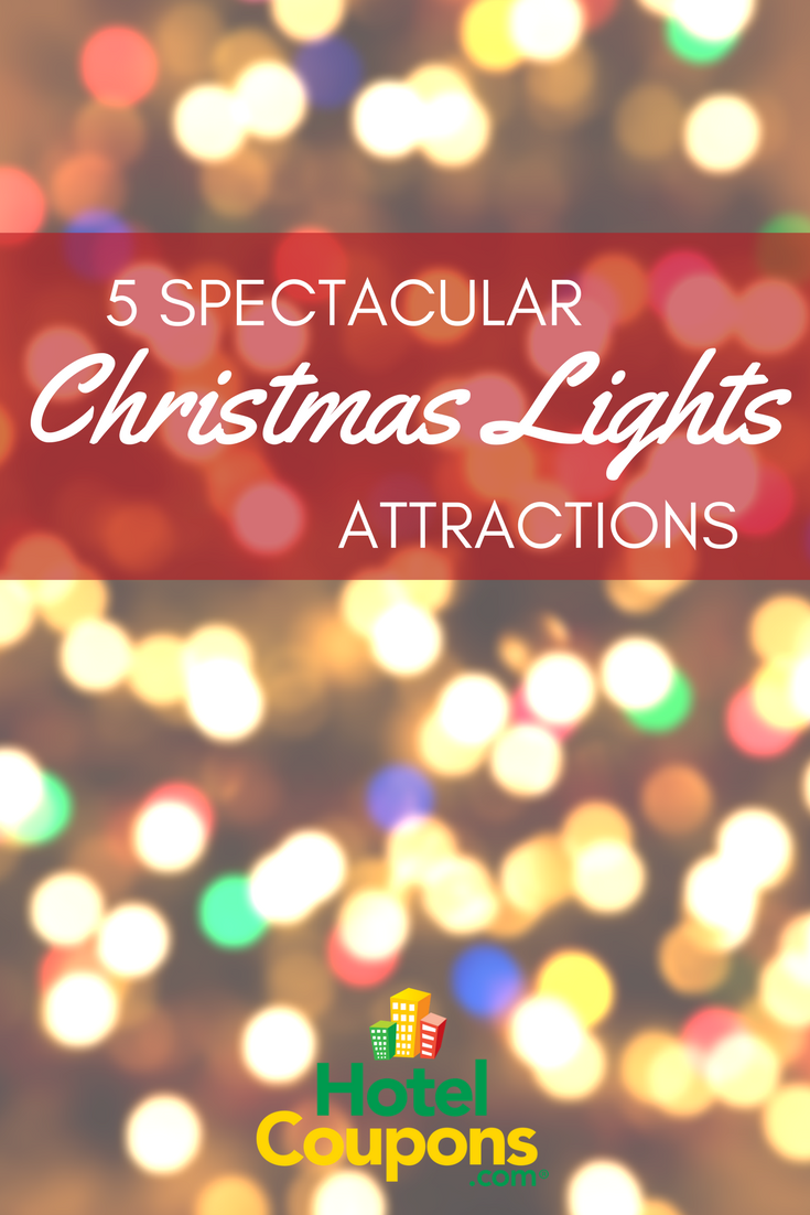 5 Spectacular Christmas Lights Attractions