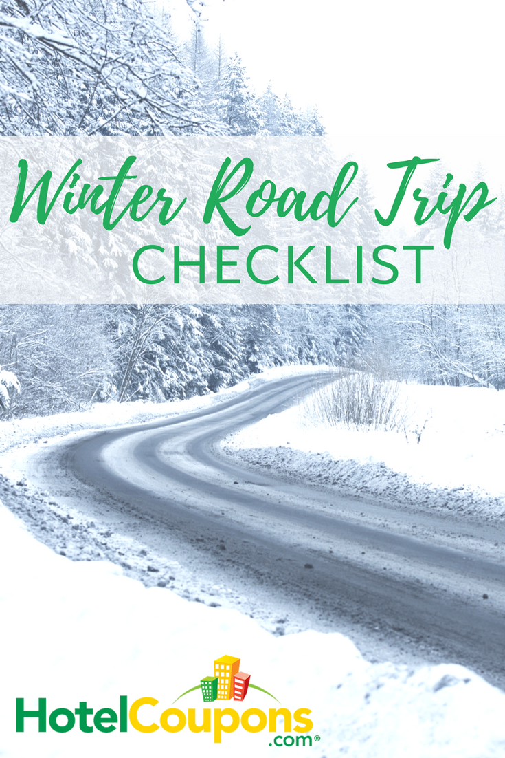 Be prepared for snow and ice with this helpful checklist!