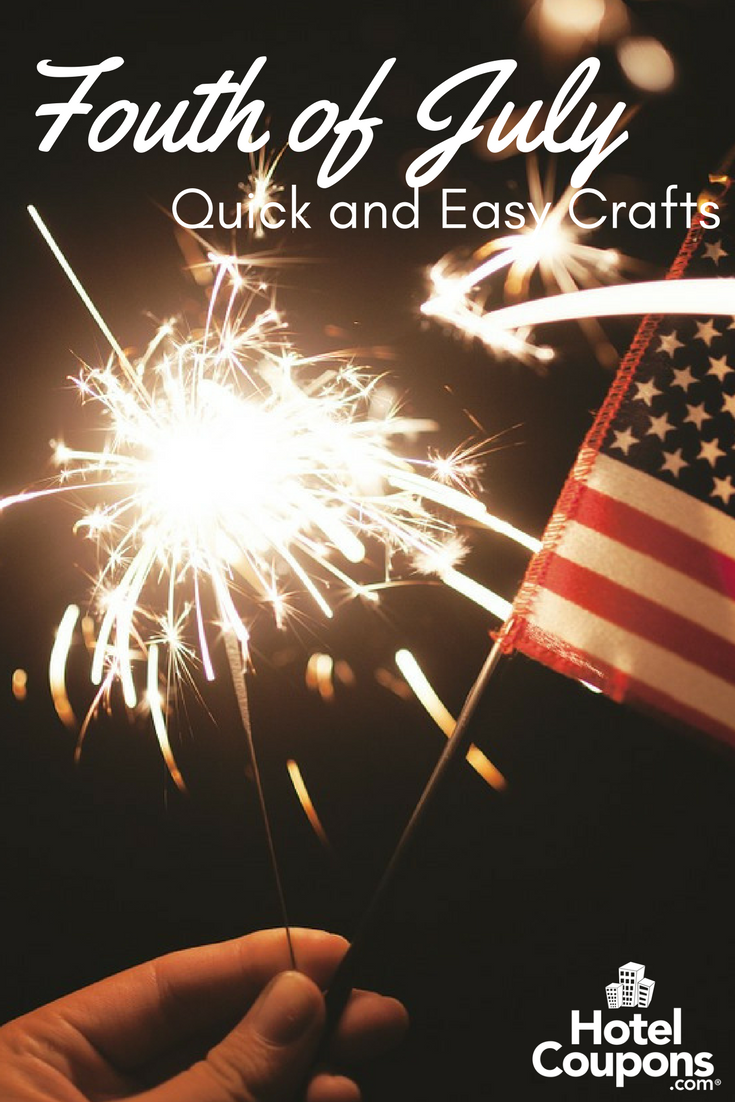 Quick and Easy Fourth of July Crafts