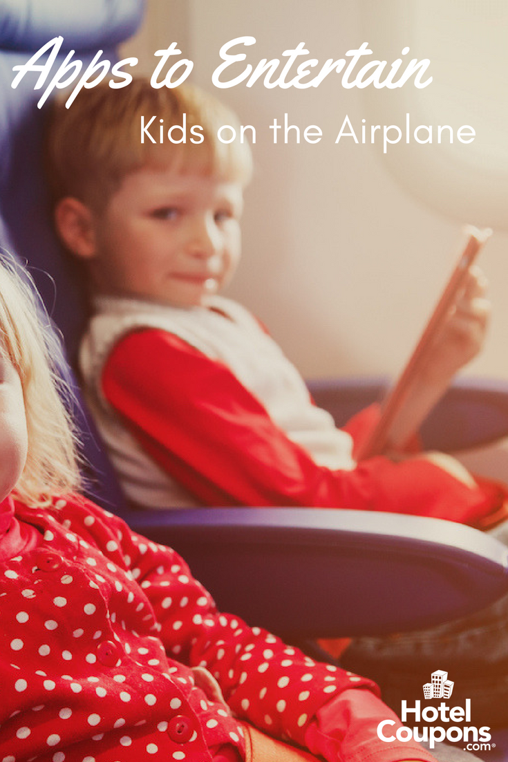 Apps to Entertain Kids on the Plane