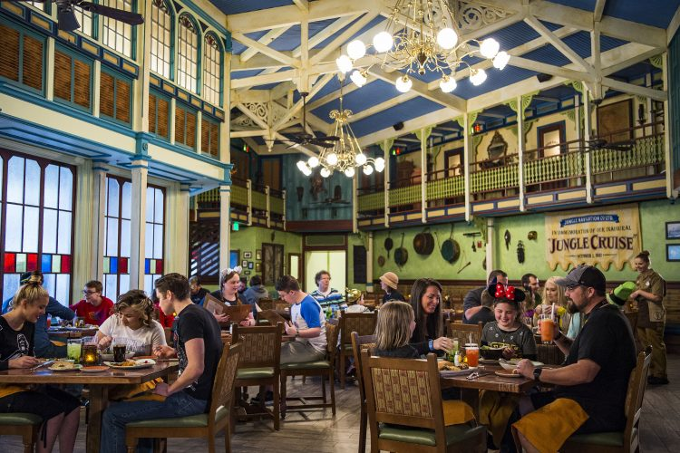 Skipper Canteen Restaurant at Disney World