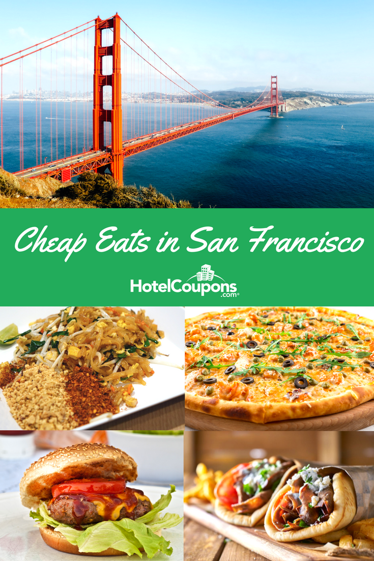 It's possible to see San Francisco on a budget with a little planning. We're sharing some of our favorite, affordable spots to grab a meal across the city.