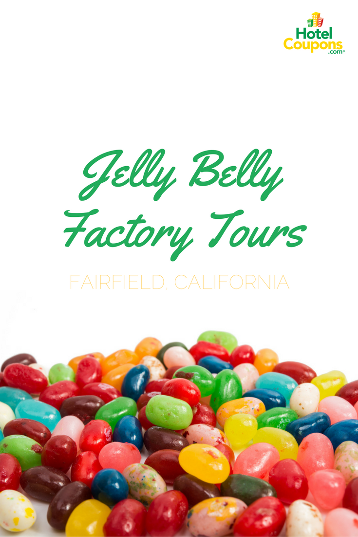Ever wanted to learn how America's favorite jelly bean was made? Learn how and try all the flavors when you visit the factory in Fairfield, California!