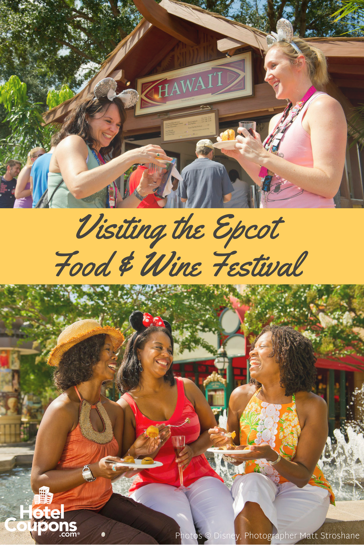 Each year, foodies and Disney fans alike flock to the Epcot Food & Wine Festival. Taste dishes from around the world, enjoy concerts, and attend cooking demonstrations, all included in your regular park pass!