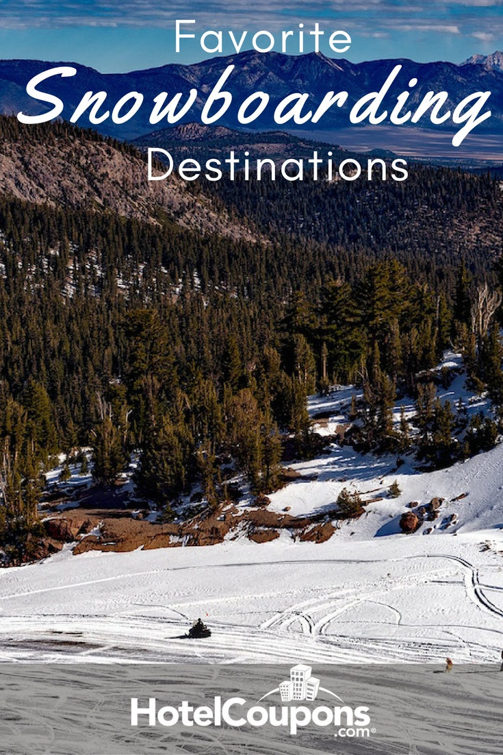 favorite snowboarding destinations background