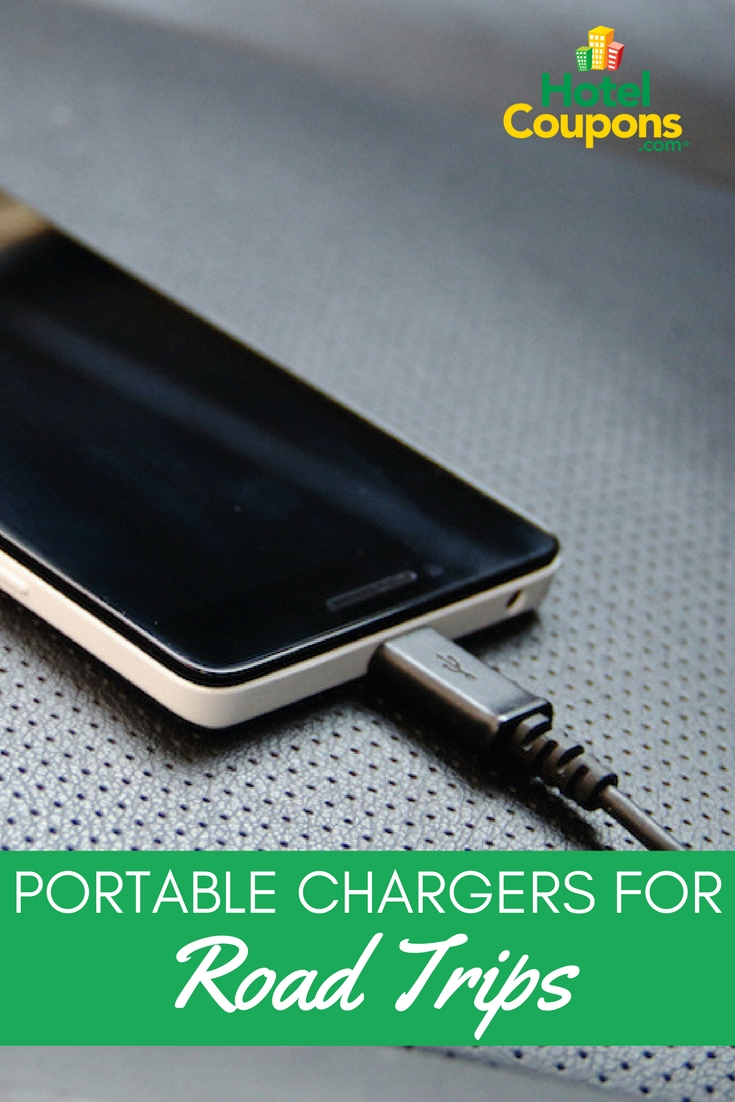 Portable Chargers for Road Trips Pin
