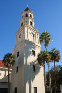 The Cathedral Basilica St. Augustine Florida. From 1565 to present day