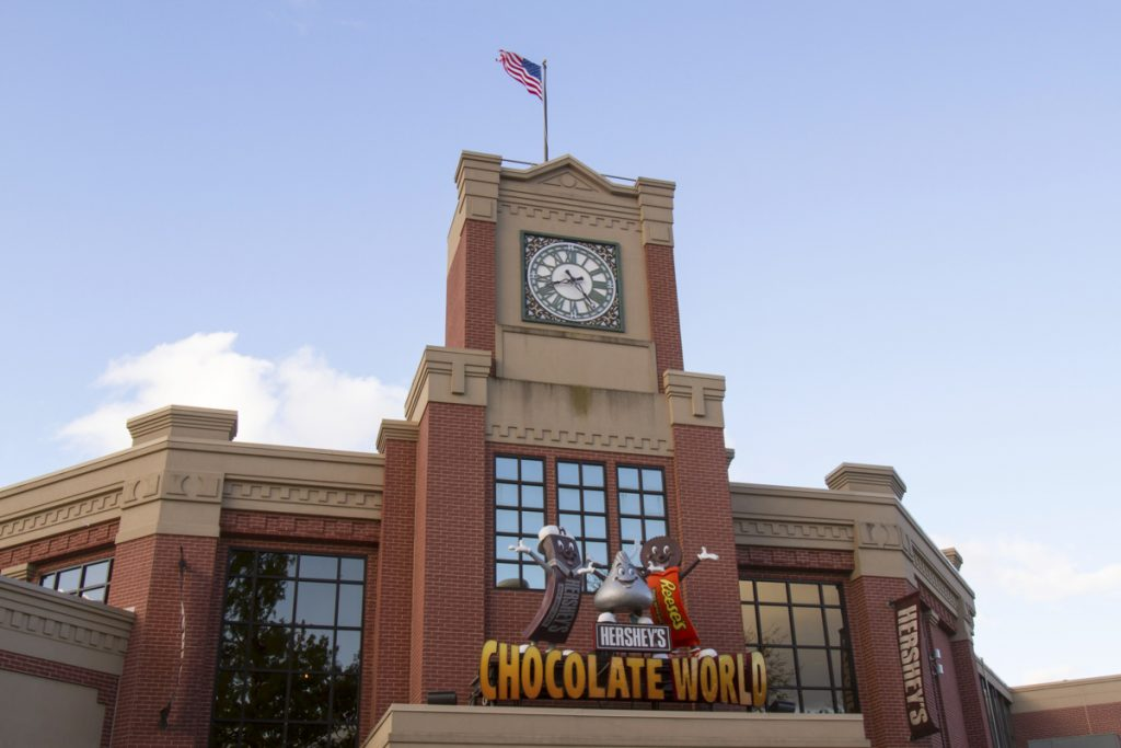 Chocolate World attraction at HersheyPark, Pennsylvania