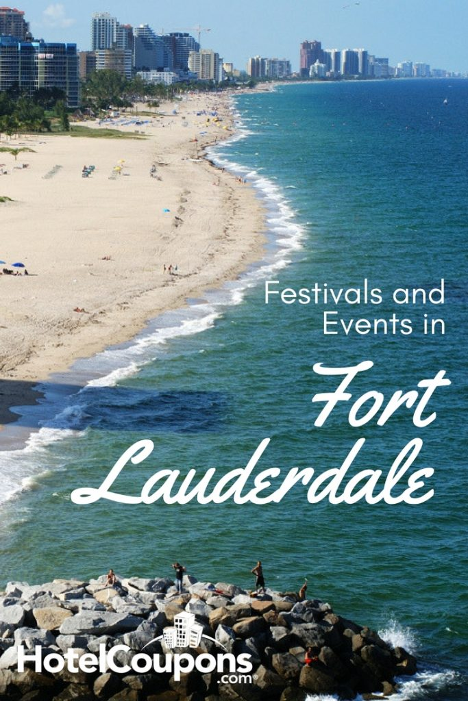 Festivals and Events in Ft. Lauderdale Pin