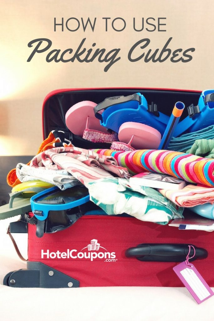 How to Use Packing Cubes Pin