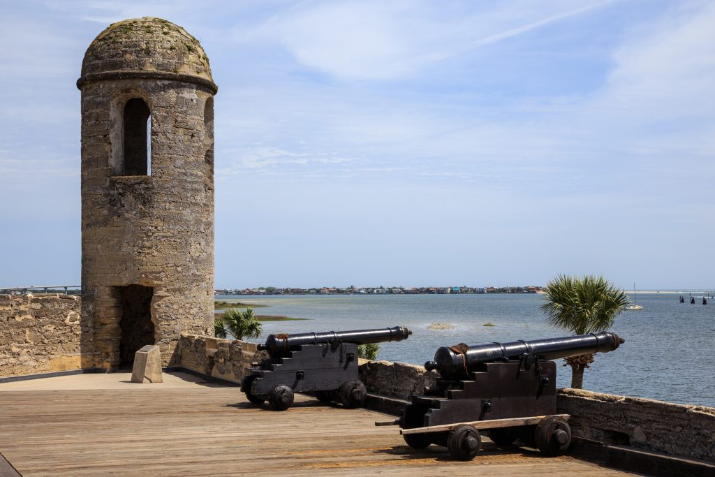 Castillo de San Marcos National Monument. St. Augustine Florida.