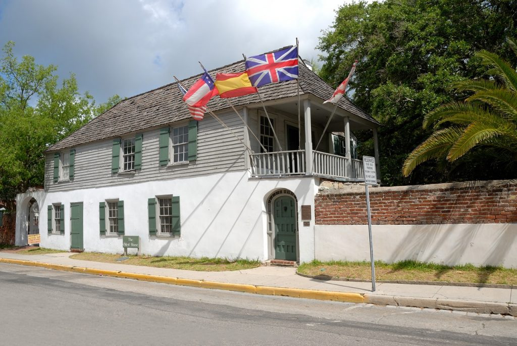oldest house in St. Augustine, Fl