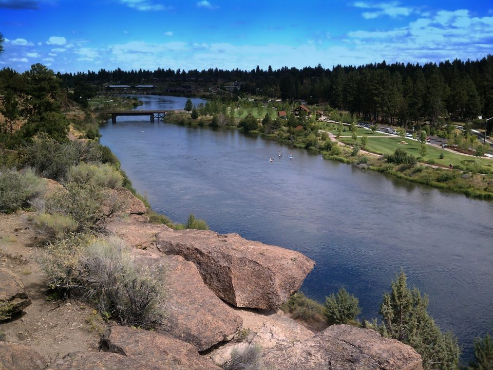 Farewell Bend Park in Oregon