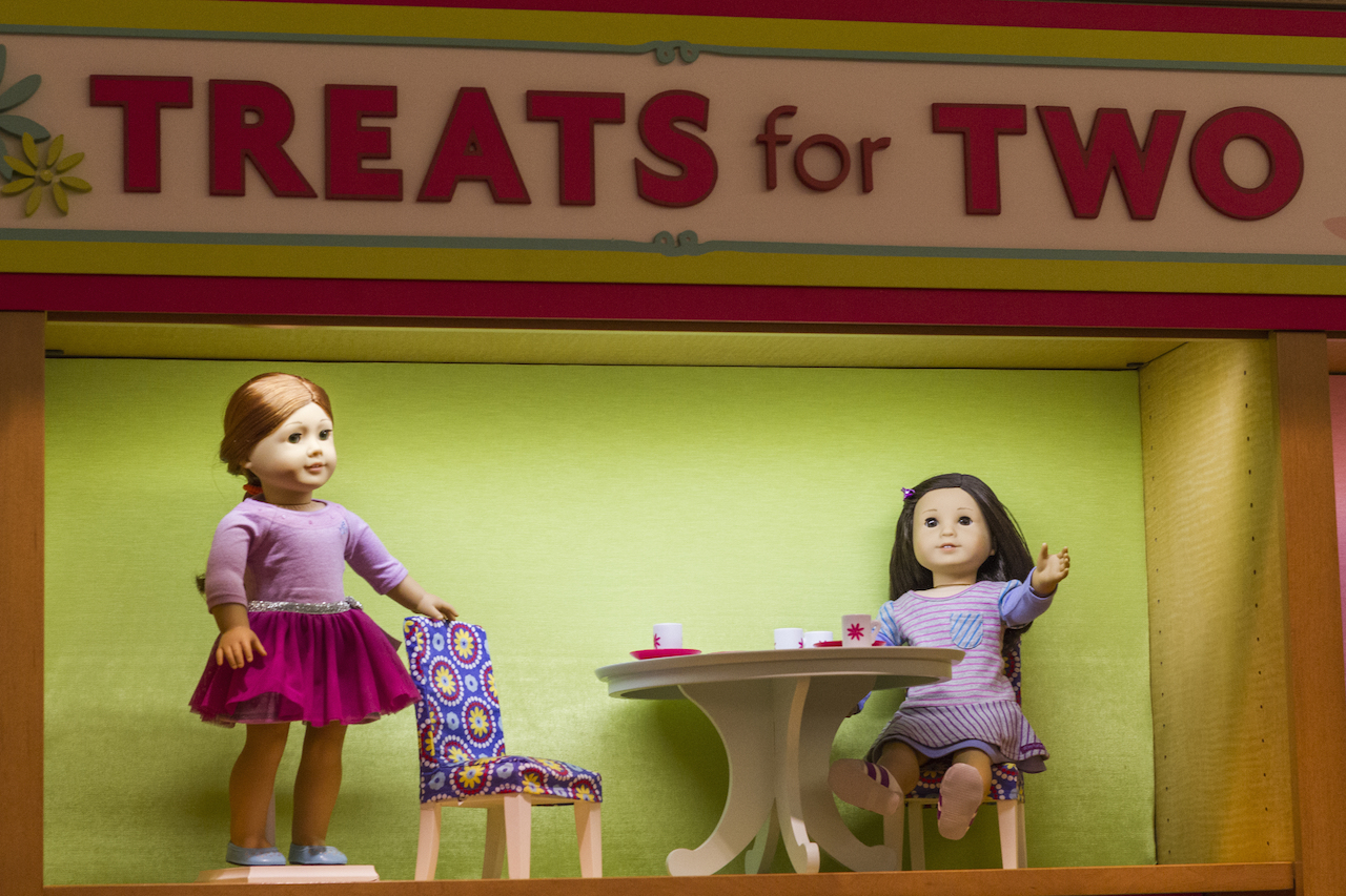 The American Girl Place store in NY