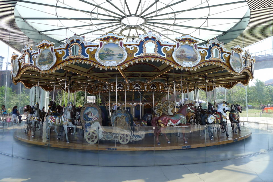 Jane's Carousel in Brooklyn, NY