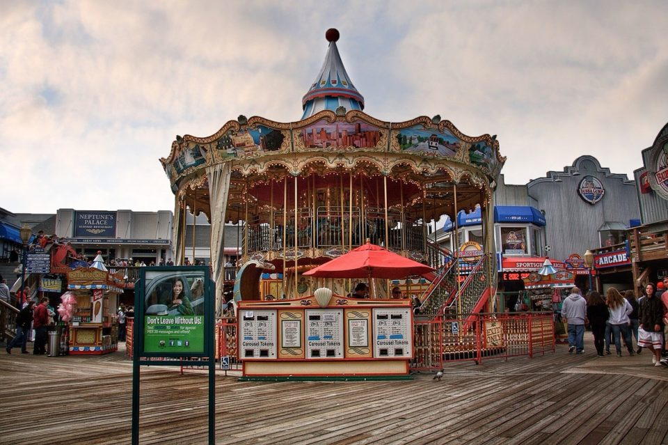 The Carousel on Pier 39 in San Francisco