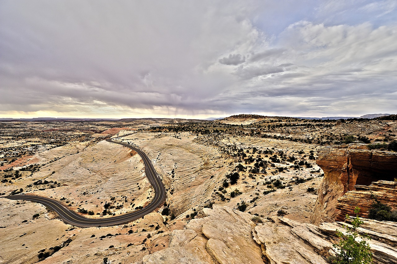 birds eyes view of the Grand Staircase-Escalante National Monument