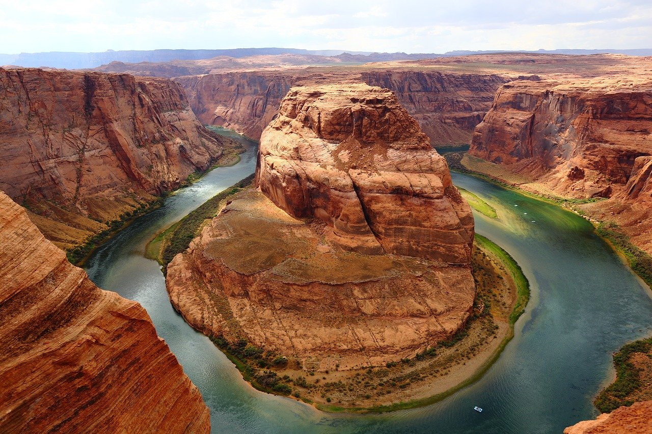 Picture of Grand Canyon horse shoe